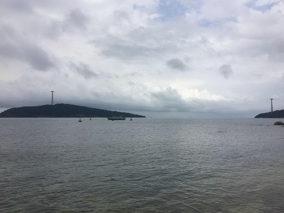 Открытие новой канатной дороги на ФУкуоке