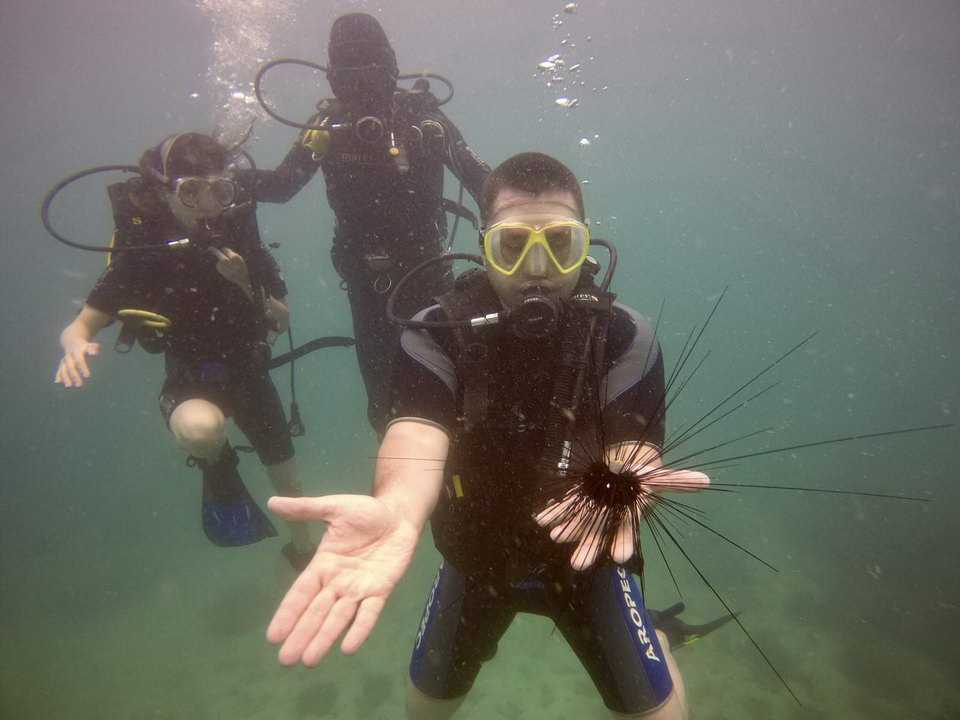 professional diving on Phu Quoc