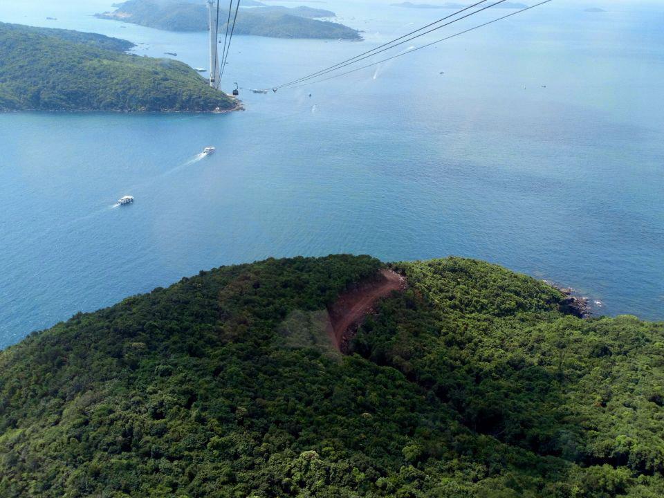 Канатная дорога на острове Фукуок