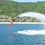 флайборд - экстримальный отдых и туризм на Фукуоке