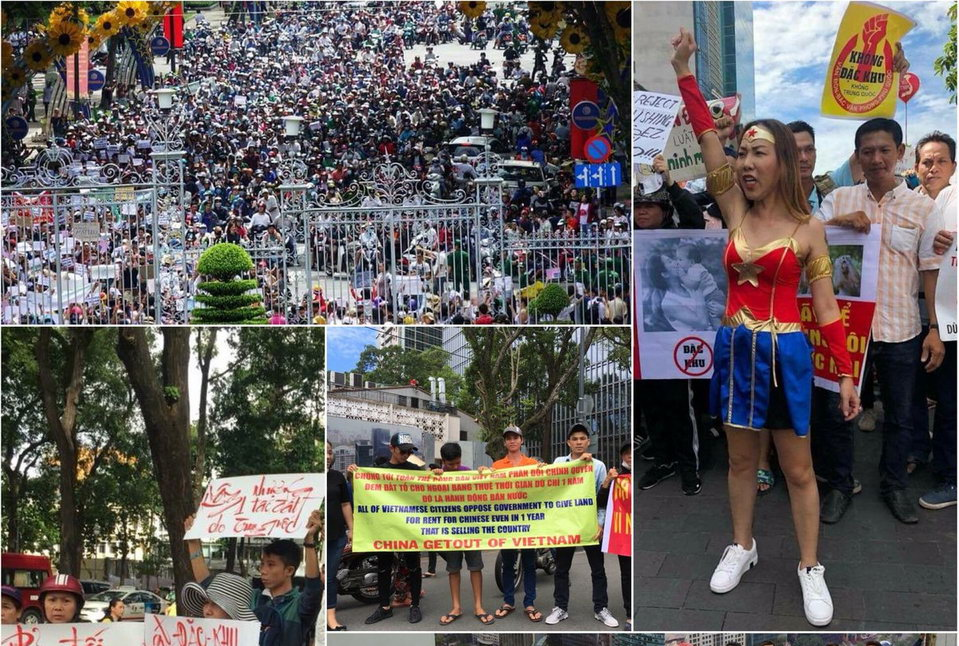 Беспорядки во Вьетнаме на Фукуоке