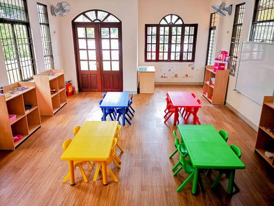 детский сад на острвое Фукуок