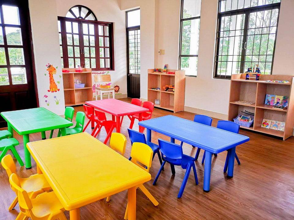 открытие детского сада на Фукуоке