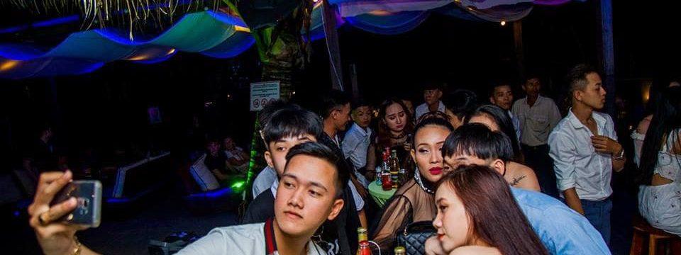Пивная вечеринка в сансет бар