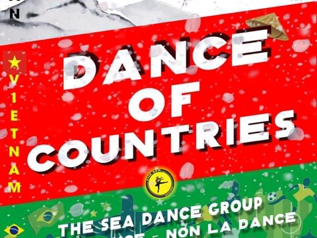 танцы нродов мира на Сансет бич на Фукуоке