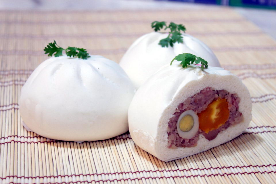 Бан бао - паровые вьетнамские булочки