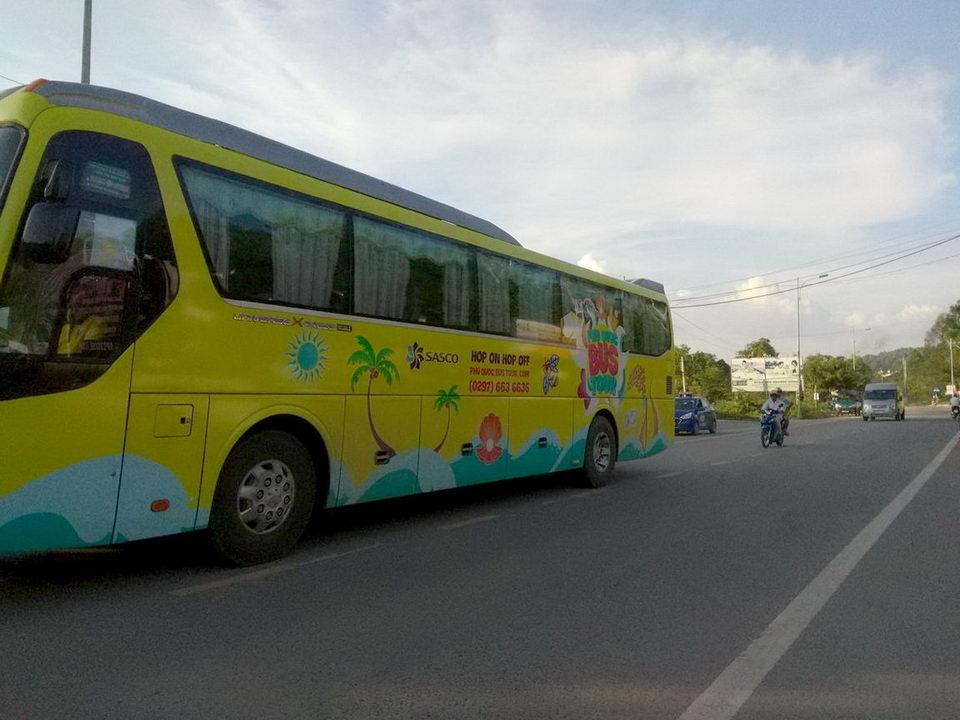 Экскурсионный автобус на Фукуоке