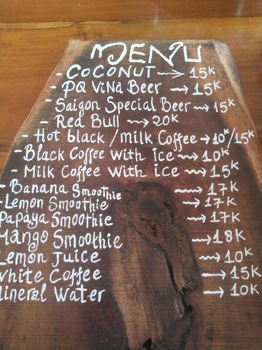 Цены в кафе на Фукуоке